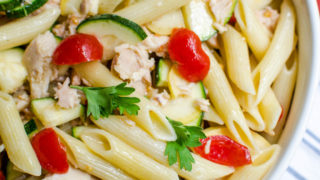 Rustic Pasta Toss with Tuna & Tomatoes