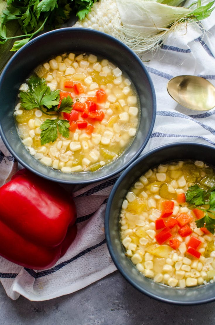 Summer Sweet Corn Soup