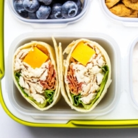 Chicken Sandwich Wraps