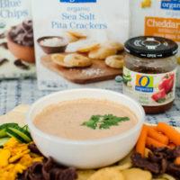 5 Minute Creamy Salsa Dip