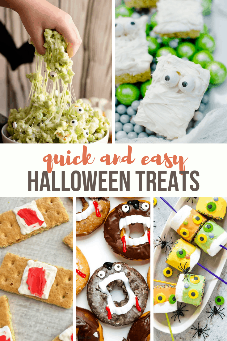 Quick And Easy Halloween Treats A Grande Life