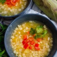 Summer Sweet Corn Soup