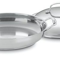 Cuisinart 725-30D Chef's Classic Stainless 12-Inch Everyday Pan with Dome Cover