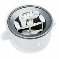 KitchenAid KICA0WH Ice Cream Maker Attachment - Excludes 7, 8, and most 6 Quart Models