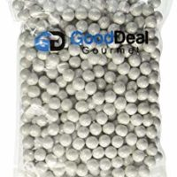 White Pearl Shimmer Sixlets Candy 1LB Bag