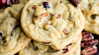 Cranberry Orange Pecan Cookies