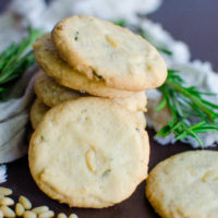 Rosemary Pine-Nut Cookies