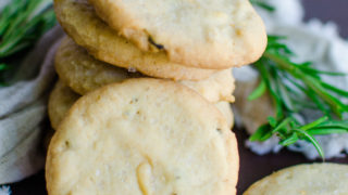 Rosemary Pine Nut Cookies