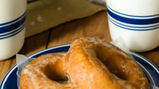 Old Fashioned Sour Cream Doughnuts for Dunking -