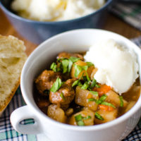 Pressure Cooker Irish Beef Stew