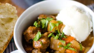 Pressure Cooker Irish Beef Stew