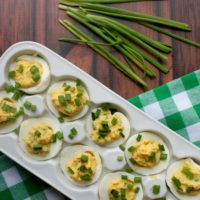 Midwestern Style Deviled Eggs Recipe