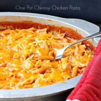 One Pot Cheesy Chicken Pasta | 30 Minute Meal weekday