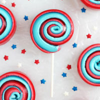 4th of July Marshmallow Pinwheels Recipe