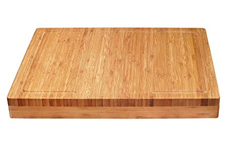 Over-the-Counter-Edge Kitchen Cutting and Serving Board