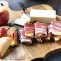 Prosciutto Cheddar Apple Wraps