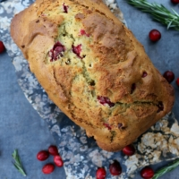 Cranberry, Orange, and Rosemary Bread