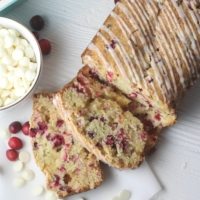 White Chocolate Orange Cranberry Bread