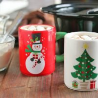 Easy Creamy Slow Cooker Hot Chocolate