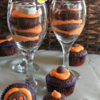 Trick or Treat Cupcake Parfaits