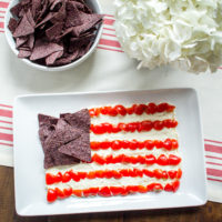 An Easy Appetizer for the 4th of July - Whipped Feta