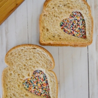 Fairy Sandwiches- A Perfect Back to School Lunch Surprise