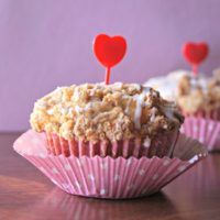 Greek Yogurt Strawberry Muffins