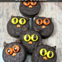 Halloween Black Cat Oreo Treats