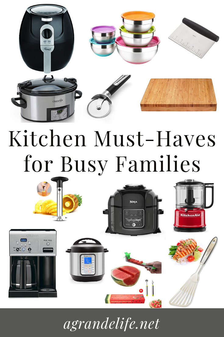 Kitchen Must-Haves for Busy Families - A Grande Life