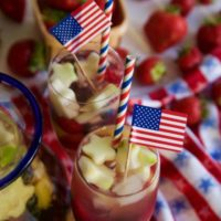 Sparkling White Sangria Recipe for July 4th!