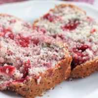 Cherry Almond Poppyseed Quick Bread
