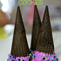 Halloween Treat Recipes: Witch Hat Surprise Cookies
