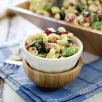 Macaroni Salad Recipe and Recipes for Labor Day Picnics