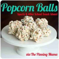 How to Make Popcorn Ball Snacks