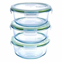 Round Glass Food Storage Containers