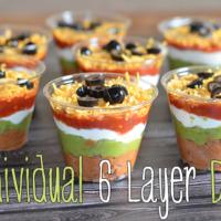 Individual 6 Layer Dips Recipe