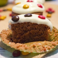 Apple Chocolate Spiced Cupcakes With Cider Frosting