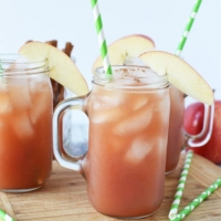 Non-Alcholic Apple Cider Punch: Perfect For Thanksgiving