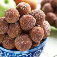 Baked Apple Cider Donut Holes Recipe