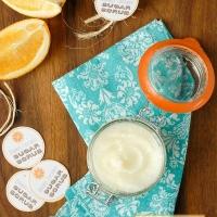 DIY Orange Coconut Oil Sugar Scrub