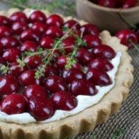 Cherry Thyme Tart