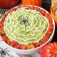 Halloween Guacamole Dip