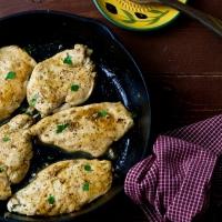 Cider Glazed Chicken Breasts