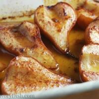 Roasted Maple Pears