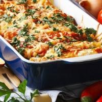 Leftover Turkey Enchilada Casserole