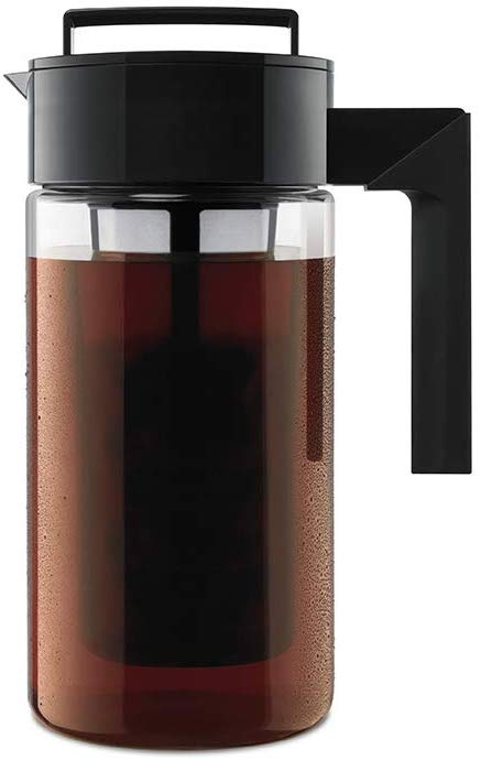 Deluxe Cold Brew Iced Coffee Maker with Airtight Lid