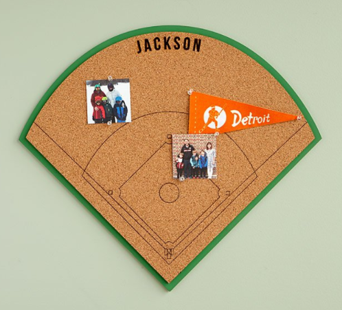 Personalized Sports Bulletin Board