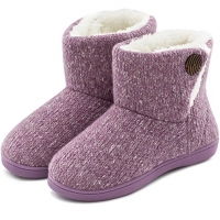 Cable Knit Bootie Slippers