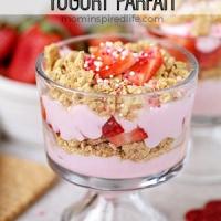 Strawberry Yogurt Parfait for Kids