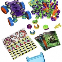 Lite Poppers 4 in 1 Construction Playset Toy